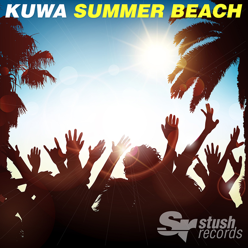 kuwa - summer beach - album art