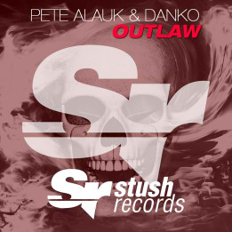Pete Alauk & Danko - Outlaw (CD Cover)